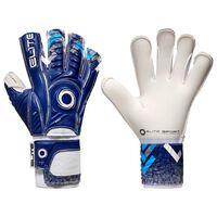 Elite Sport Gants de gardien de but de football Brambo Taille 5 Bleu