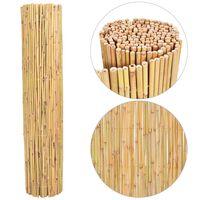 vidaXL Clôture en bambou 250x170 cm