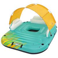 Bestway Île de piscine gonflable 5 personnes Sunny Lounge 291x265x83cm