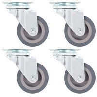 vidaXL Roulettes pivotantes 4 pcs 50 mm