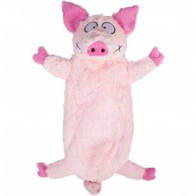 Peluche animal de ferme porc 33cm
