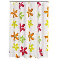 RIDDER Rideau de douche Textile Fleur