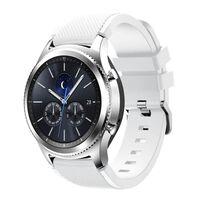 Bracelet Samsung Gear S3 Frontier / Classique - Blanc