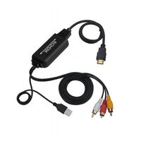 Convertisseur AV vers HDMI - Convertisseur RCA / composite vers HDMI