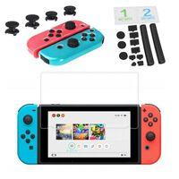 Kit d'accessoires Nintendo Switch avec poussière et protecteur d'écran