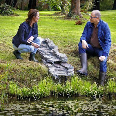 Velda Ensemble de ruisseau de jardin 105 cm