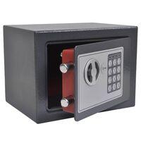 vidaXL Coffre-fort numérique électronique 23x17x17 cm