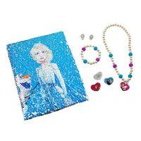 Frozen 2 / La Reine de Neiges 2, Cahier et Bijoux