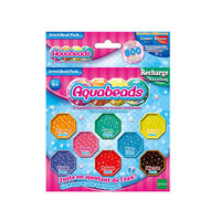 Perles Aquabeads : Recharge de perles à facettes joyaux