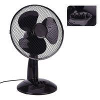 Excellent Electrics Ventilateur de table 45 W Noir