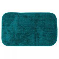 Sealskin Tapis de bain Doux 50x80 cm Bleu pétrole