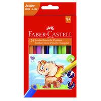 Faber Castell FC-116 524 crayons Faber-Castell 24stuks Jumbo