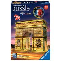 Ravensburger Puzzle 3D Arc de Triomphe illuminé