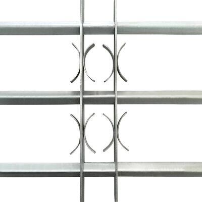 vidaXL Grille réglable de sécurité de fenêtres et 3 barres 700-1050 mm