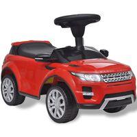 vidaXL Voiture à chevaucher jouet avec musique Land Rover 348 Rouge