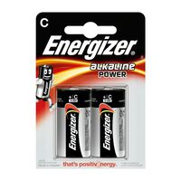 Energizer EN E300152100 piles alcalines C 1,5 V Puissance 2 blister