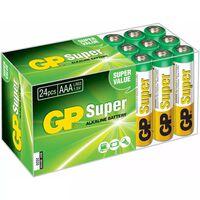 GP Pile alcaline AAA 24 pcs 1,5 V 03024AB24