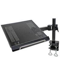 """NewStar Support de bureau pour ordinateur portable 10""""-22"""" 57 cm Noir"""