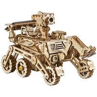 Robotime Kit de maquette de voiture à énergie solaire Curiosity Rover