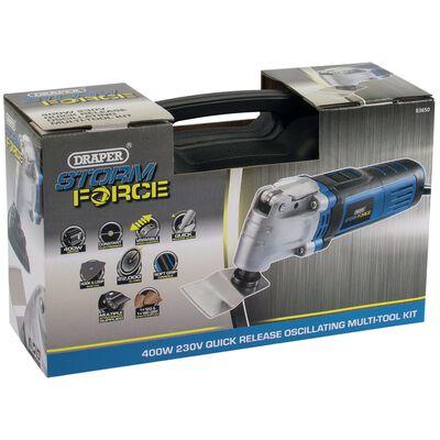 Draper Tools Kit à outils oscillants Storm Force 400 W