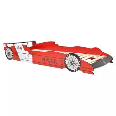 vidaXL Lit voiture de course pour enfants 90 x 200 cm Rouge