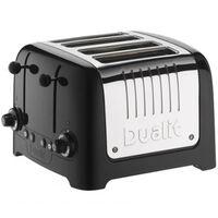 Grille pain DUALIT 4 Fentes - 2200W LITE Noir 46225