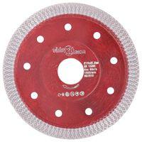 vidaXL Disque de coupe diamanté avec trous Acier 115 mm