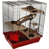 Cage pour hamster enzo 3 41,5x28,5x48,5cm