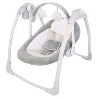 Bo Jungle Transat pour bébé B-Portable Dolphy Gris
