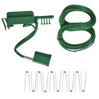 vidaXL Système d'irrigation automatique avec gicleur et minuterie