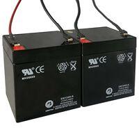 Batteries de rechange de scooter électrique 2 pcs 12V 4,5Ah