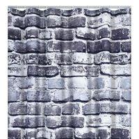 RIDDER Rideau de douche Wall 180x200 cm