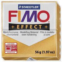 Pâte Fimo 57 g Effect Métallique Doré 8020.11 - Fimo