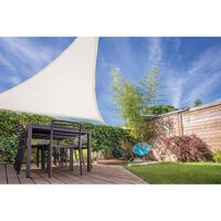 Ambiance - Tissus D'ombrage - 3.6 X 3.6m - Blanc