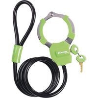 Masterlock - Antivol Pour Vélo - Câble Antivol 1 M - Vert