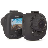 Nikkei Caméra tableau de bord Full HD avec vision nocturne ROADX2 Noir