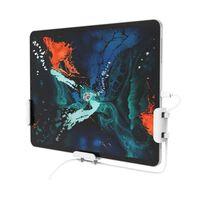 Support mural universel pour téléphone portable / tablette blanc 3 piè