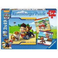 Ravensburger Puzzles 3x49 pièces - Héros à fourrure / Pat'Patrouille