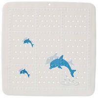 Sealskin Tapis antidérapant Montreal 55x55 cm Bleu et blanc