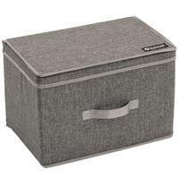 Outwell Boîte de rangement pliante Palmar L Gris Polyester 470356