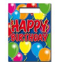 Happy Birthday Party Sacs 8 Pièces