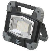 Brennenstuhl Projecteur mobile à LED avec Bluetooth TORAN 46 W