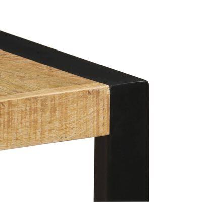 vidaXL Table de salle à manger 140x70x75 cm Bois de manguier massif