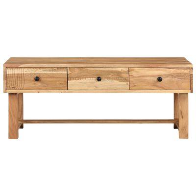 vidaXL Table basse 100x50x40 cm Bois d'acacia massif
