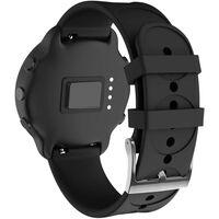 Bracelet de remplacement pour Smartwatch 20 mm silicone noir