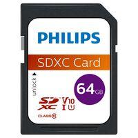 Philips Carte mémoire SDXC 64 Go UHS-I U1 V10