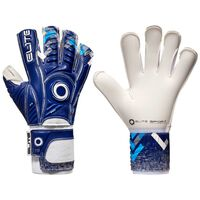 Elite Sport Gants de gardien de but de football Brambo Taille 10 Bleu