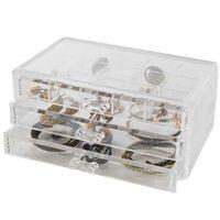 Compactor Grand coffret range-bijoux 3 tiroirs