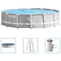 Intex Ensemble de piscine Prism Frame Premium 427x107 cm