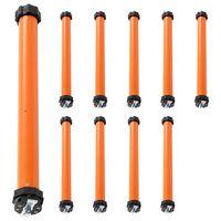 vidaXL Moteurs tubulaires 10 pcs 40 Nm